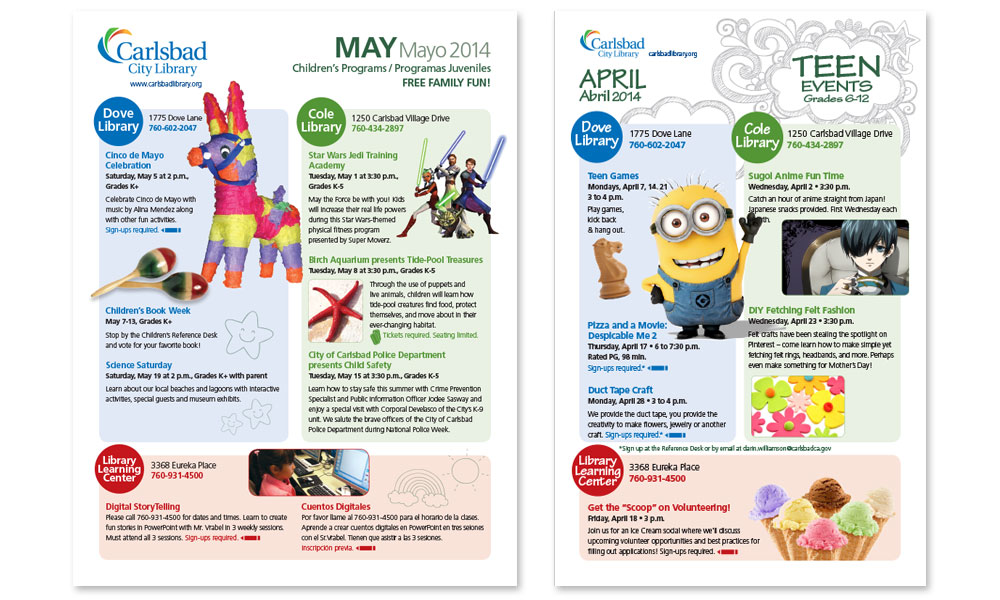 Event Calendar - LibCal - Carlsbad City Library