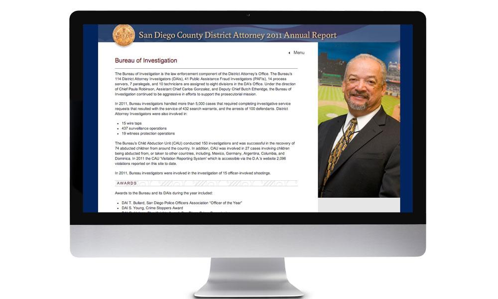 San Diego District Attorney - BrainShine